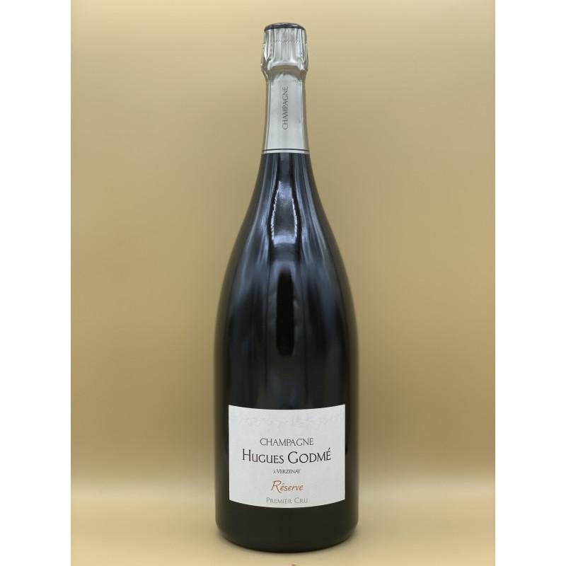 """AOC Champagne Brut Premier Cru Maison Hugues Godmé """"Réserve""""1,5L"""