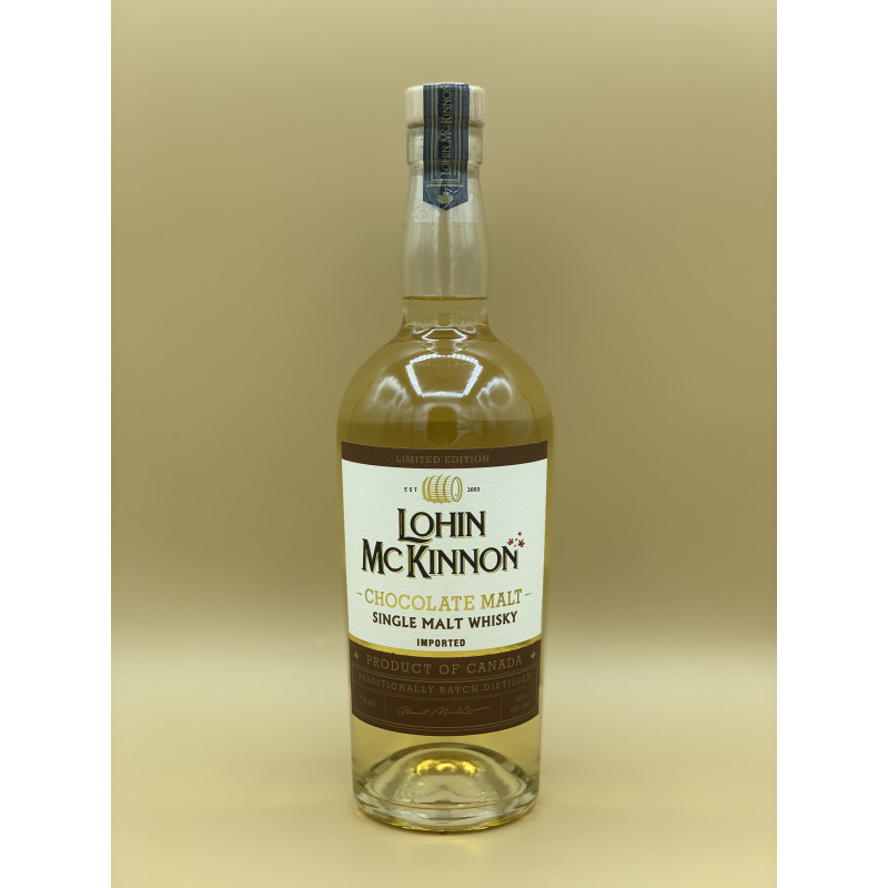 "Whisky Single Malt Lohin Mc Kinnon ""Chocolate"" 70cl"