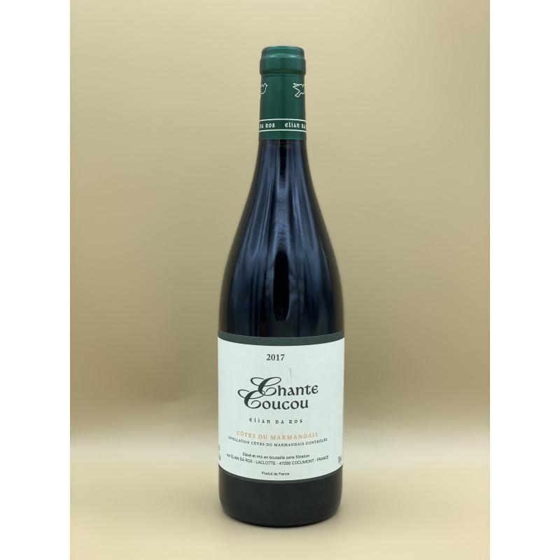 """AOC Côtes du Marmandais Domaine Elian Da Ros """"Chante Coucou"""" Rouge 2017 75cl"""