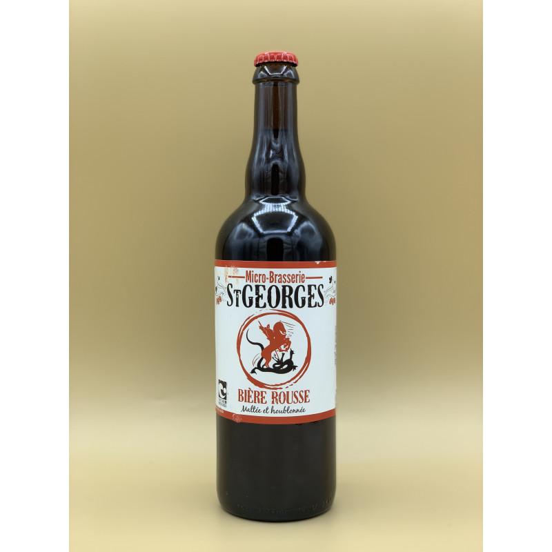 """Bière Rousse Saint-Georges """"Rousse"""" 75cl"""
