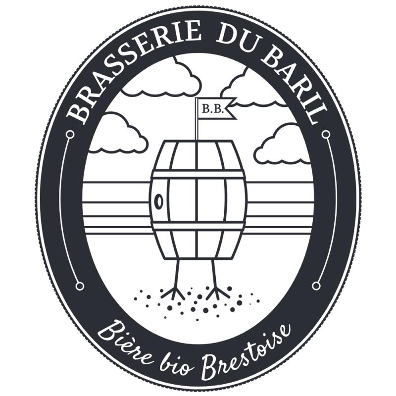 "Bière Blonde Brasserie du Baril ""Baril Originale"" 75cl"