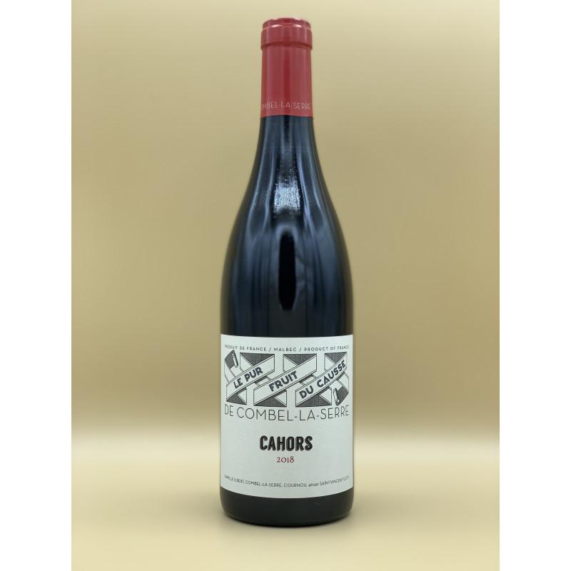 """AOC Cahors Château Combel-La-Serre """"Le Pur Fruit du Causse"""" Rouge 201975cl"""