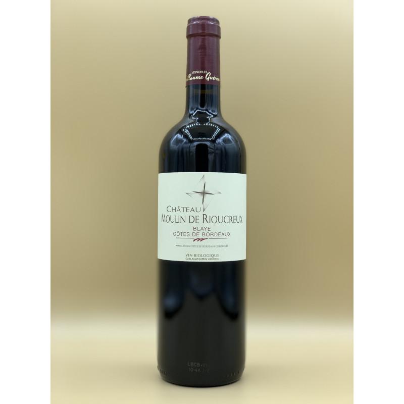 AOC Blaye Côtes de Bordeaux Château Moulin de Rioucreux 2019 Rouge 75cl