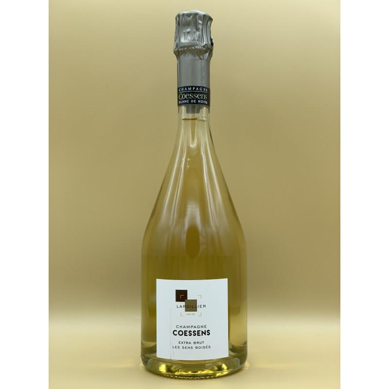 """AOC Champagne Extra Brut Maison Coessens  """"Les Sens Boisés"""" 75cl"""