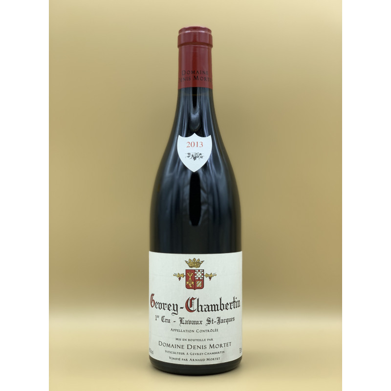 AOC Gevrey-Chambertin 1er Cru Lavaux St Jacques Domaine Denis Mortet Rouge 2013 75cl