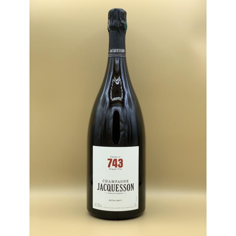 """AOC Champagne Extra-Brut Maison Jacquesson """"Cuvée n°743"""" 1,5L"""