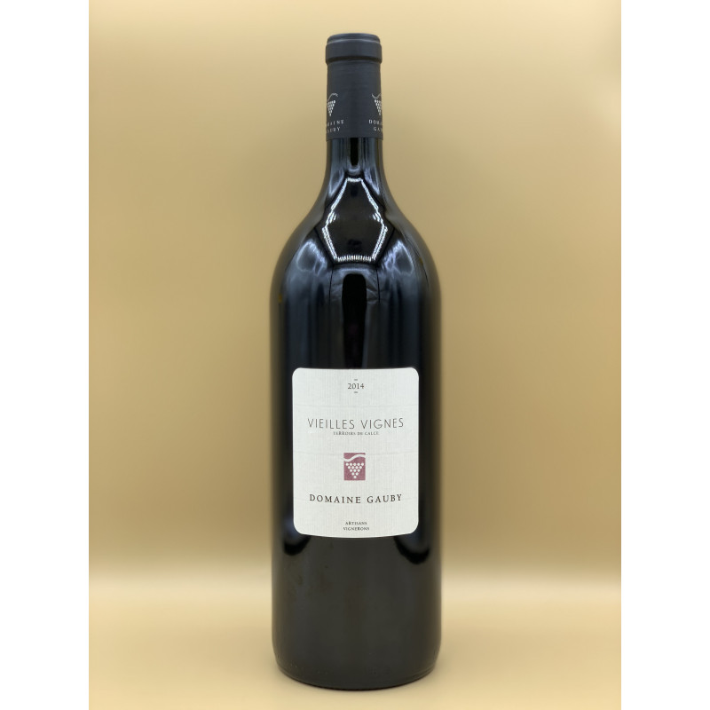 """IGP Côtes Catalanes Domaine Gauby """"Vieilles Vignes"""" Rouge 20141,5L"""