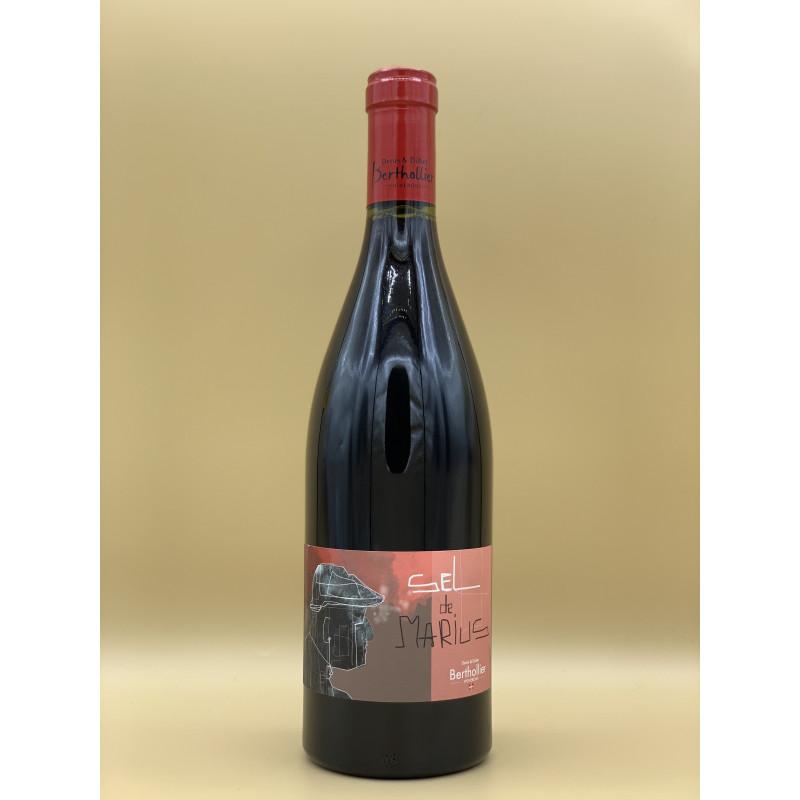 """AOC Vin de Savoie Domaine Bertholier """"Sel de Marius"""" Rouge 2019 75cl"""