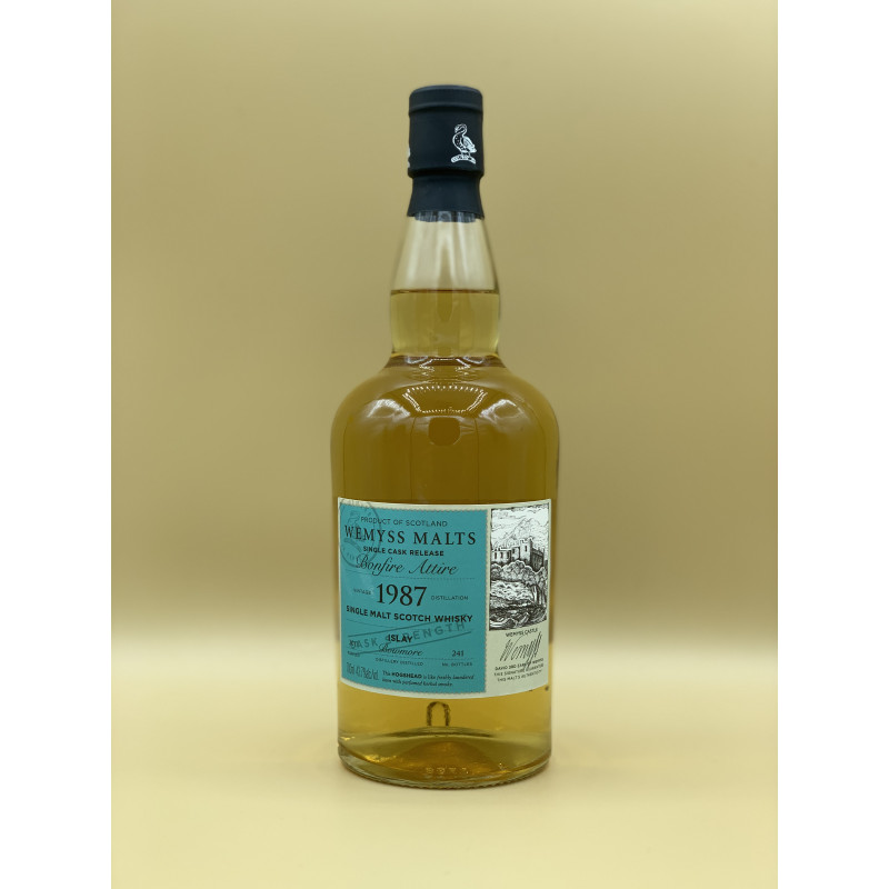 "Whisky Wemyss Malt ""Bowmore 1987"" 70cl"