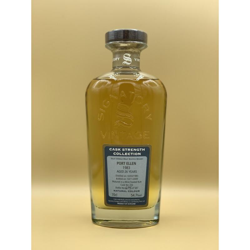 "Whisky Port Ellen ""26 ans"" 70cl"