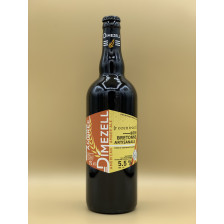 """Bière Ambrée Dimezell """"Ambrée"""" 75cl"""