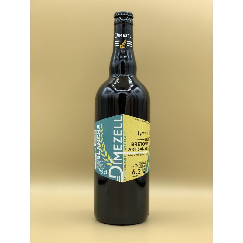 """Bière Blanche Dimezell """"Blanche"""" 75cl"""