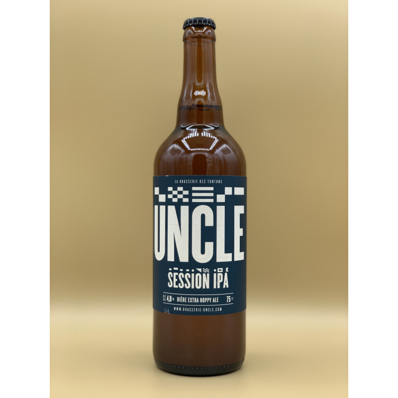 "Bière Blonde Brasserie Uncle ""Session IPA"" 75cl"