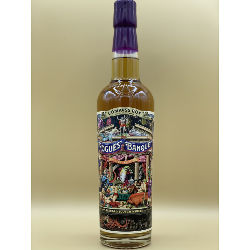 """Whisky Compass Box """"Rogues Banquet"""" 70cl"""
