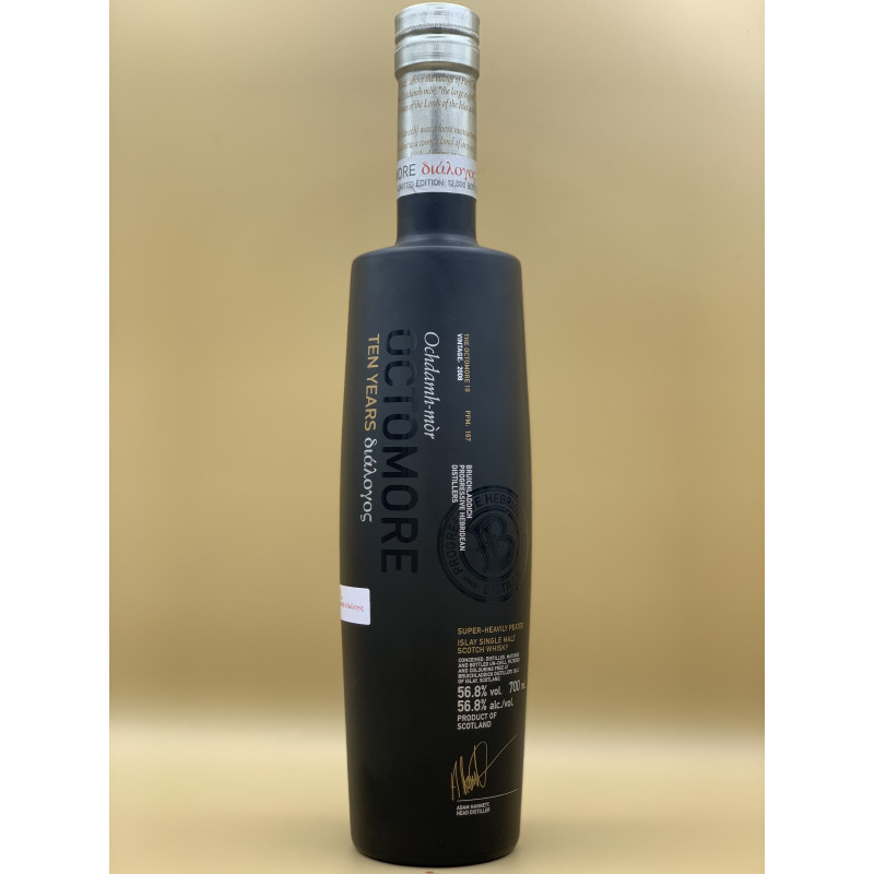 """Whisky Single Malt Octomore """"The Octomore 10"""" 70cl"""