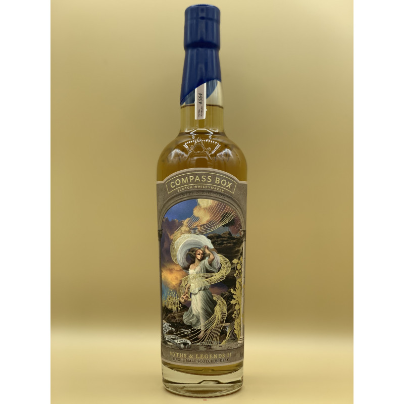 "Whisky Single Malt Compass Box ""Myths & Legends II"" 70cl"