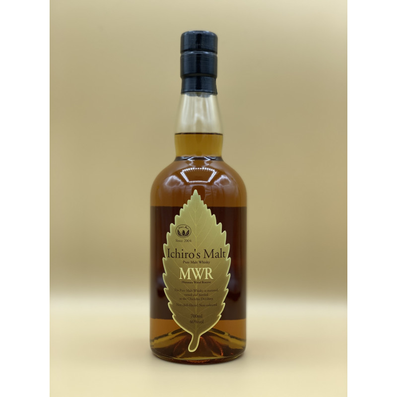 "Whisky Pur Malt Hanyu et Chichibu ""Mizunara Wood Reserve"" 70cl"