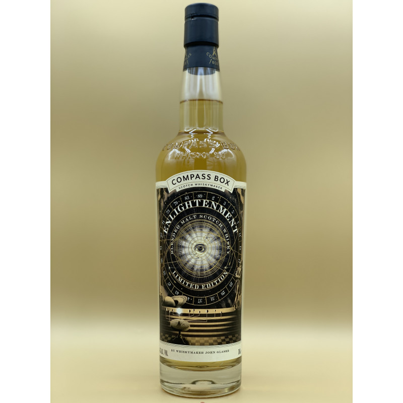"""Whisky Compass Box """"Enlightenment"""" 70cl"""