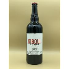 """Bière Ambrée Brasserie D'istribilh """"Riboul"""" 75cl"""