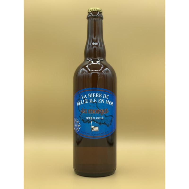"""Bière Blanche Brasserie La Morgat """"Blanche"""" 75cl"""