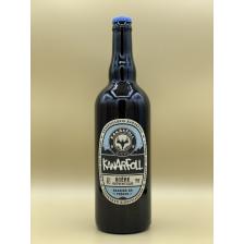 """Bière Blonde Brasserie Kanarfoll """"Bière Authentique"""" 75cl"""