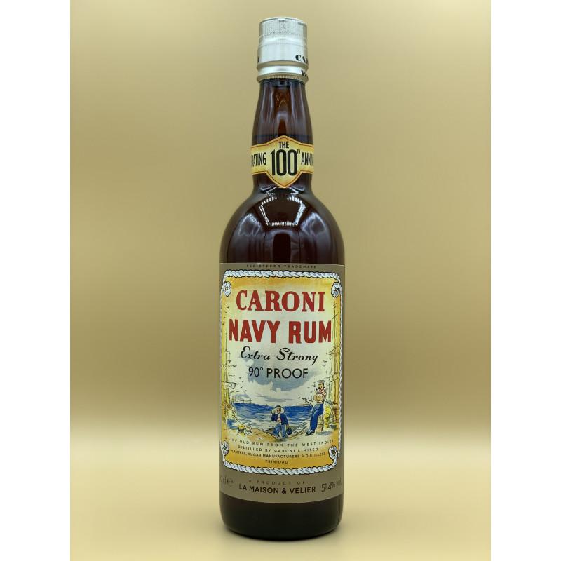 """Rhum Vieux Caroni """"Navy Rum 100ème Anniversaire"""" 70cl"""