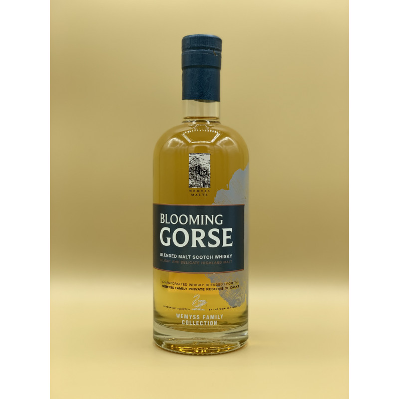 "Whisky Blended Malt Wemyss Malt ""Blooming Gorse"" 70cl"