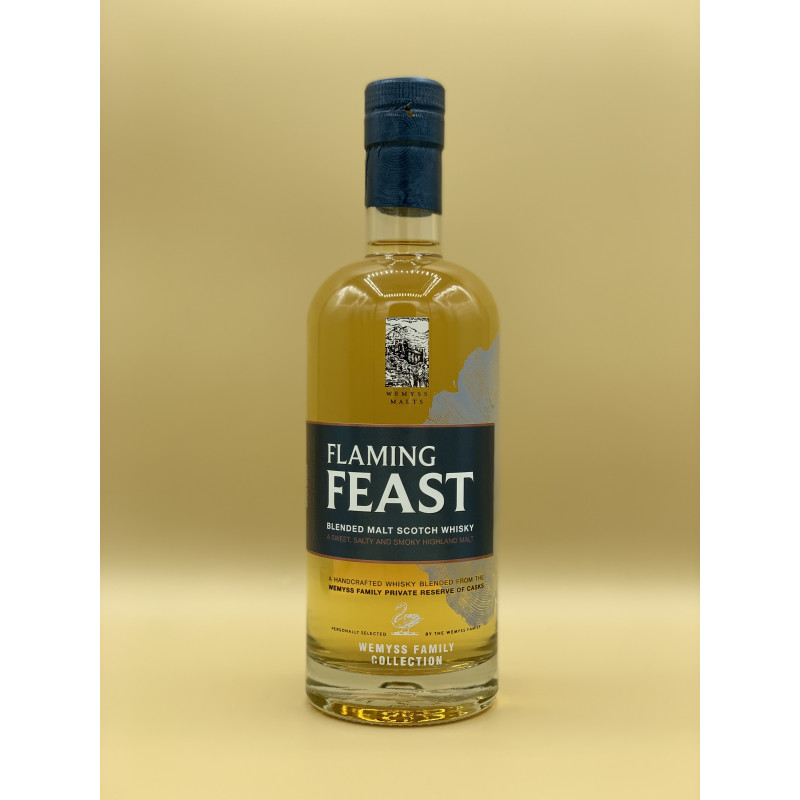 "Whisky Blended Malt Wemyss Malt ""Flaming Feast"" 70cl"